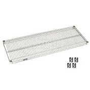 Chrome Wire Shelf 72x14 With Clips