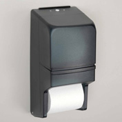 "Palmer Fixture Twin Toilet Roll Dispenser for 5"" Rolls Vertical - RD002501"