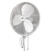 "J&D 30"" Outdoor Oscillating Wall Fan With Bracket POW30OSC 1/4HP 7090CFM"