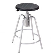 Shop Stool - Polyurethane - Black