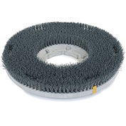 """Powr-Flite 15""""Poly Shower Feed Brush With Clutch Plate For Carpet & Hard Surface"""