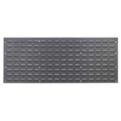 Louvered Wall Panel Without Bins 48x19 - Pkg Qty 2