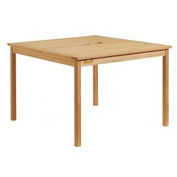 """Oxford Garden® 42"""" Square Outdoor Dining Table - Teak"""