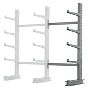 "Cantilever Rack Single Sided, Add-On Unit Medium Duty, 48"" W  x 33"" D x 8' H, 5300 Lbs Capacity"