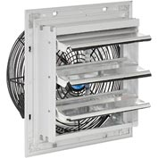 "Exhaust Ventilation Fan With Shutter 10"" Single Speed With Hardware"