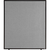 "Office Partition Panel, 36-1/4""W x 42""H, Gray"