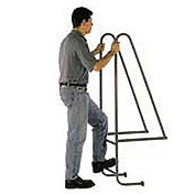 "9 Step Steel Dock Ladder - 18""W x 144""H"