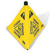 Rubbermaid® 9S01 Pop-Up Safety Cone - Pkg Qty 12