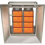 SunStar Natural Gas Heater Infrared Ceramic SG6-N, 60000 Btu