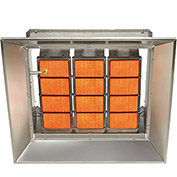 SunStar Natural Gas Heater Infrared Ceramic SG10-N, 100000 Btu