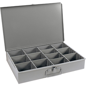 Durham Steel Scoop Compartment Box 119-95 - Adjustable Vertical Compartments - Pkg Qty 4