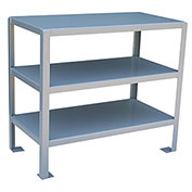 48 X 24 2 Shelf Machine Table