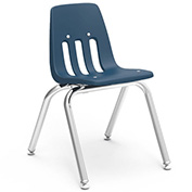 Virco® 9014 Classic Series™ Classroom Chair - Navy Vented Back - Pkg Qty 4