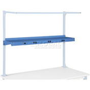 "96""W Shelf with Electrical - Blue"