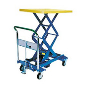 Southworth Dandy Lift A-350W Mobile Scissor Lift Table 770 Lb. Capacity