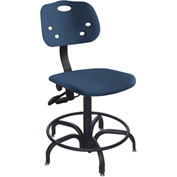 "BioFit ArmorSeat 24 Hour Antimicrobial Chair - 24 - 31"" Seat Ht. - Blue"