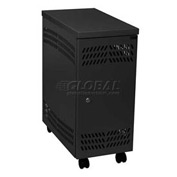 Datum Large Mobile CPU Locker-BLACK, Series CPU2-M