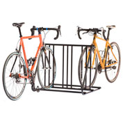 6-Bike Mighty Mite Double Sided Bike Rack
