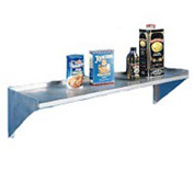 "Aero Manufacturing 2W-1224 24""Wx12""D Aerospec SS NSF Wall Shelf"