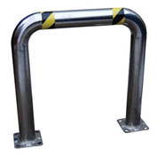 """Stainless Steel High Profile Machinery Guard 48"""" L x 36"""" H x 4-1/2"""" Dia"""