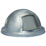 Galvanized Dome Top for Mesh Trash Container