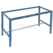 "96""W x 30""D Workbench Frame w/ Electric-Blue"