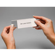 "Tri-Dex Label Holder 1-1/4"" x 3"" for Stacking Bin Price per Pack of 25"