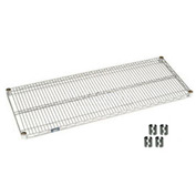 Chrome Wire Shelf 48x21 With Clips