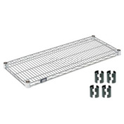 Poly-Z-Brite Wire Shelf 14x60 with Clips