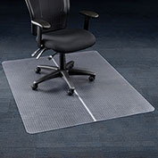 "Aleco® Office Chair Mat for Carpet - 46""W x 60""L - Straight Edge"