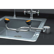 Guardian Equipment Eye/Face Wash Deck Mounted AutoFlow 90 Degree Right Hand Mounting, G1805