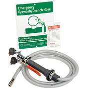 Guardian Equipment Eye Wash/Drench Hose Unit Deck Mounted, G5022