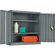 Global™ Wall Storage Cabinet Assembled 30x12x30 Gray