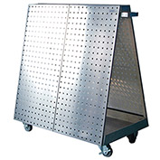 Stainless Steel LocBoard Mobile Tool Cart