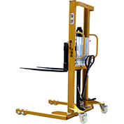 "Big Joe® MSA22-98 Hand & Foot Pump Operated Lift Truck 2200 Lb. 98"" Lift"