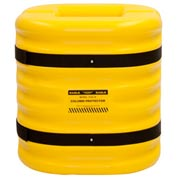 "Eagle Column Protector, 8"" Column Opening, 24"" High, Yellow, 1724-8"