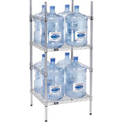 5 Gallon Water Bottle Storage Rack, 8 Bottle Capacity