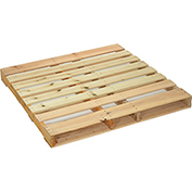 "New Heat Treated Export Hard Wood Pallet 48"" x 96"" x 4-1/2"" - Pkg Qty 5"