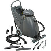 "Global™ Wet & Dry Vacuum 18 Gallon with 24"" Squeegee"