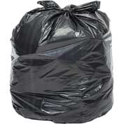 Global Industrial™ 2X Heavy Duty Black Trash Bags - 40 to 45 Gallon, 1.7 Mil, 100/Case