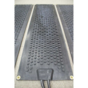"HOT-Blocks Outdoor Heated Anti-Slip Stair Tread Mat-11""X38"" 120v"