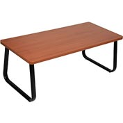 "Rectangle Coffee Table 43"" x 20"" Cherry Top"