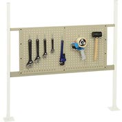"Mounting Kit with 36""W Pegboard for 48""W Workbench -Tan"