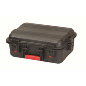 "Plano All Weather™ Large Watertight & Dust Proof Case w/Foam 18-3/8""L x 8""W x 14-1/4""H, Black"