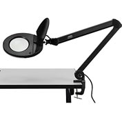 3 Diopter LED Magnifying Lamp, Black
