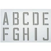 Plastic Stencil A to Z, 0.5mm Thickness, Stencil Includes 11 Kits