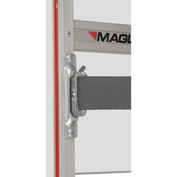 "Magliner® MAG-LOC™ Kit with 2"" x 8' Ratchet Strap - 2 Brackets + Hardware"
