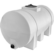 RomoTech 550 Gallon Plastic Storage Tank 82124269 - Round with Leg Supports