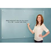 Frosted Glass Dry Erase Board - 72 x 48