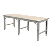 96 X 60 Extra Wide Open Leg Workbench Starter